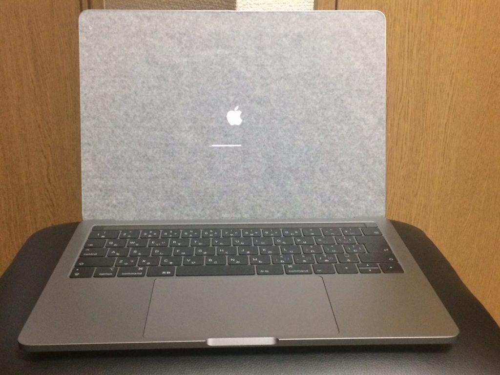 MacBook Pro 開封